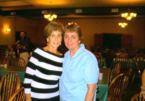 Bear Creek Pa >> Norma Imel (Jack's wife) with Linda Ciotti